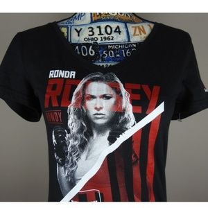 Reebok Ronda Rousey UFC Top Small NWT